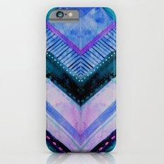 Blue Patchwork Slim Case iPhone 6s