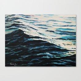 Sea calmness Canvas Print