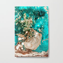 Resin Obsession #society6 #decor #buyart Metal Print