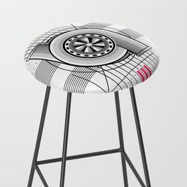 Turbo engine Bar Stool