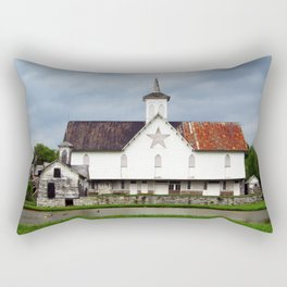 Star Barn Rectangular Pillow