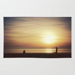 suMMer mOOd - beach sunset Rug