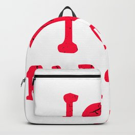 i love farting i love farting farting Backpack