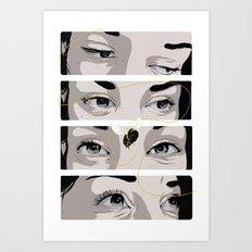 The Apiarist  Art Print