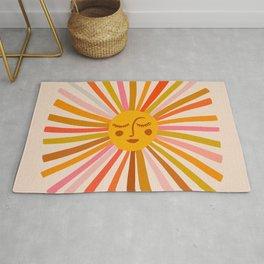 Sunshine – Retro Ochre Palette Rug