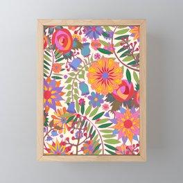 Just Flowers Lite Framed Mini Art Print