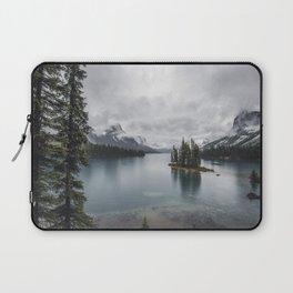 Maligne Lake Jasper Alberta Laptop Sleeve