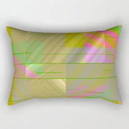 Rainbow in My Room Rectangular Pillow