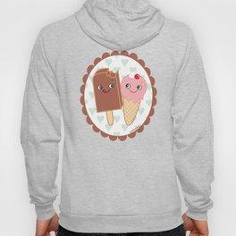 Ice creams in love Hoody