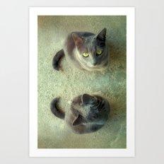 Double Love Art Print