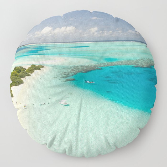 Tropical Delight Floor Pillow