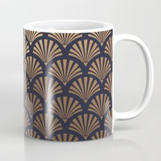 Art Deco Shell Pattern Mug