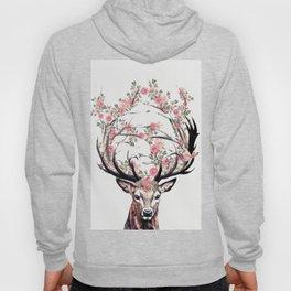 Deer and Flowers Hoody