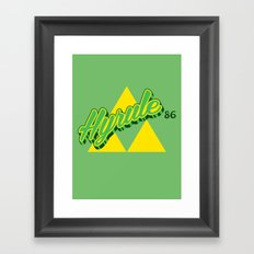 Hyrule Framed Art Print