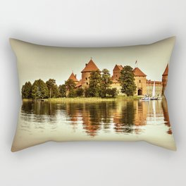 Trakai Castle Rectangular Pillow