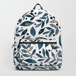 Seasonal branches and berries - neutral Backpack