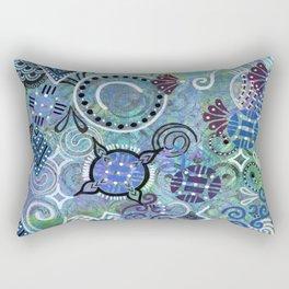 Tangle Tumbles Rectangular Pillow