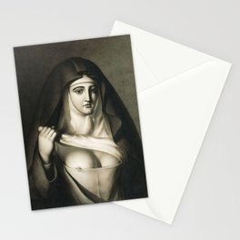 The Awful Disclosures of Maria Monk Stationery Cards