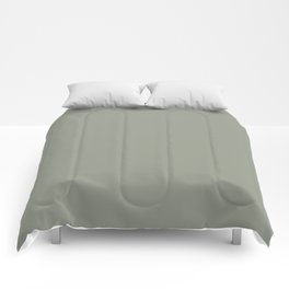 Port of Call ~ Sage Green Comforters
