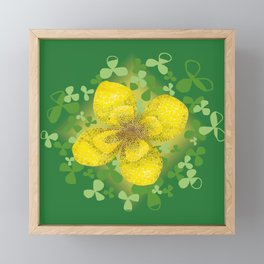 Lucky Clover 2 Framed Mini Art Print