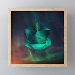 Magnetic fields Framed Mini Art Print