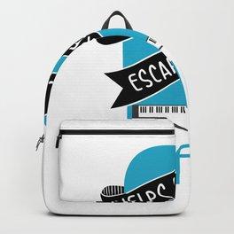 Piano Helps Me Escape Reality Piano Music Teacher Music Teacher Jazz Blues Backpack