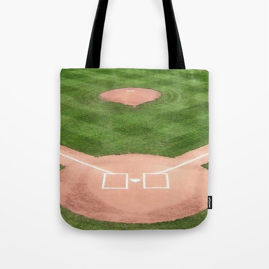 Baseball field /Baseballfeld Tote Bag
