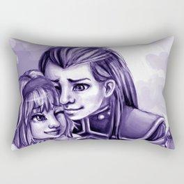 natalia and asch Rectangular Pillow