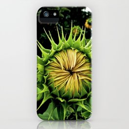 Blooming Sunflower iPhone Case