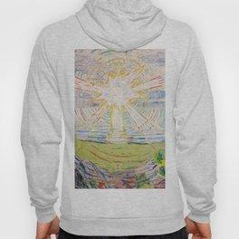 """Edvard Munch """"The Sun"""", 1910–11 Hoody"""