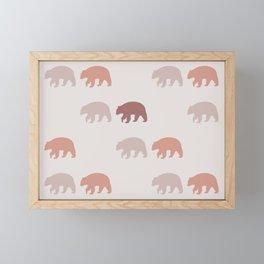 Black Bear (Orchard) Framed Mini Art Print