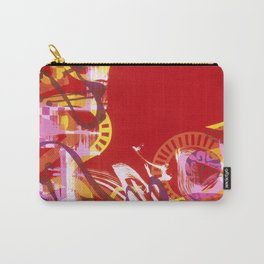 Red Carnival Carry-All Pouch