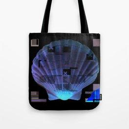 Cross Collage Prints Sea Shell Tote Bag