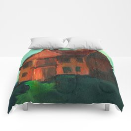 Found Houses, #77 Comforters