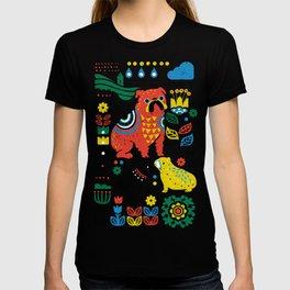 Scandinavian English Bulldog T-shirt