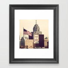 Detroit  Framed Art Print