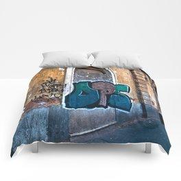 SICILIAN FACADE in CATANIA Comforters