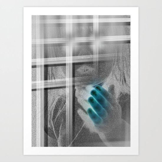 White Noise - Variant III Art Print