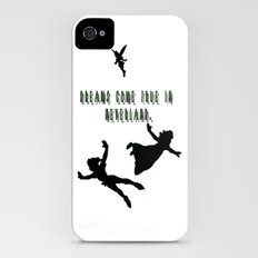 Dreams Come True In Neverland. Slim Case iPhone (4, 4s)
