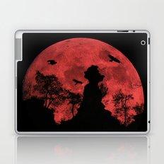 Red moon rock Laptop & iPad Skin