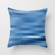 Nature Pixels - No.10 Throw Pillow