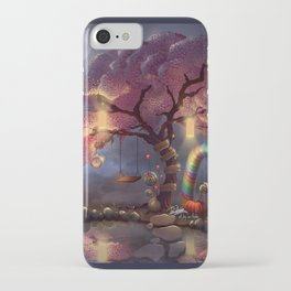 Candy Wonderland Tree iPhone Case