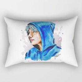 Taehyung watercolor BTS Rectangular Pillow