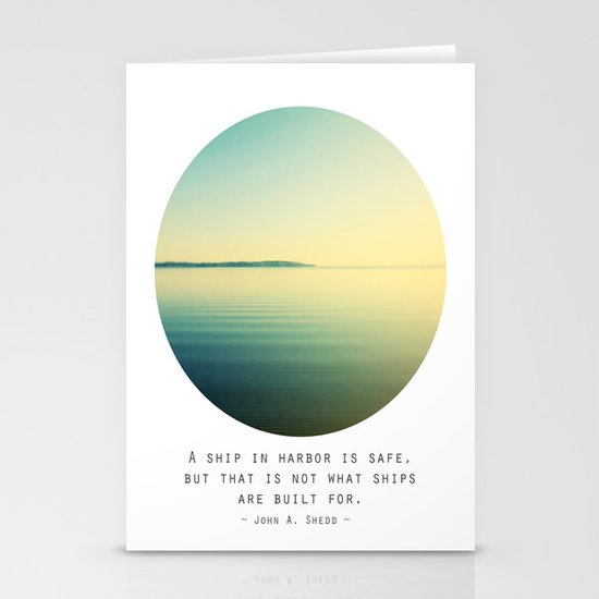 A Ship Stationery Cards