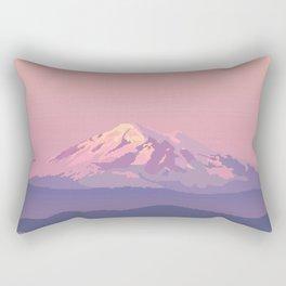 Mt Baker Rectangular Pillow