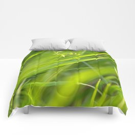 Shallow Blades of Grass Comforters