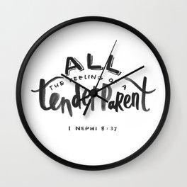 1 Nephi 8:37 Wall Clock