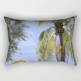 Caribbean lookout Rectangular Pillow