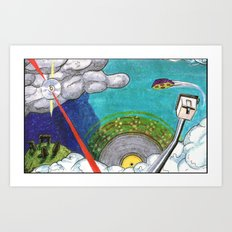 Music on the Horizon by Cap Blackard Art Print