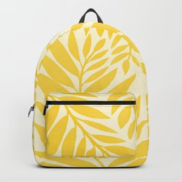 Golden Yellow Leaves Backpack